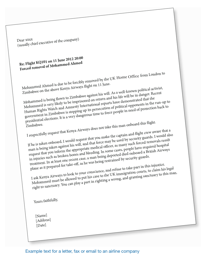 Deportation Letter Of Support Example from righttoremain.org.uk