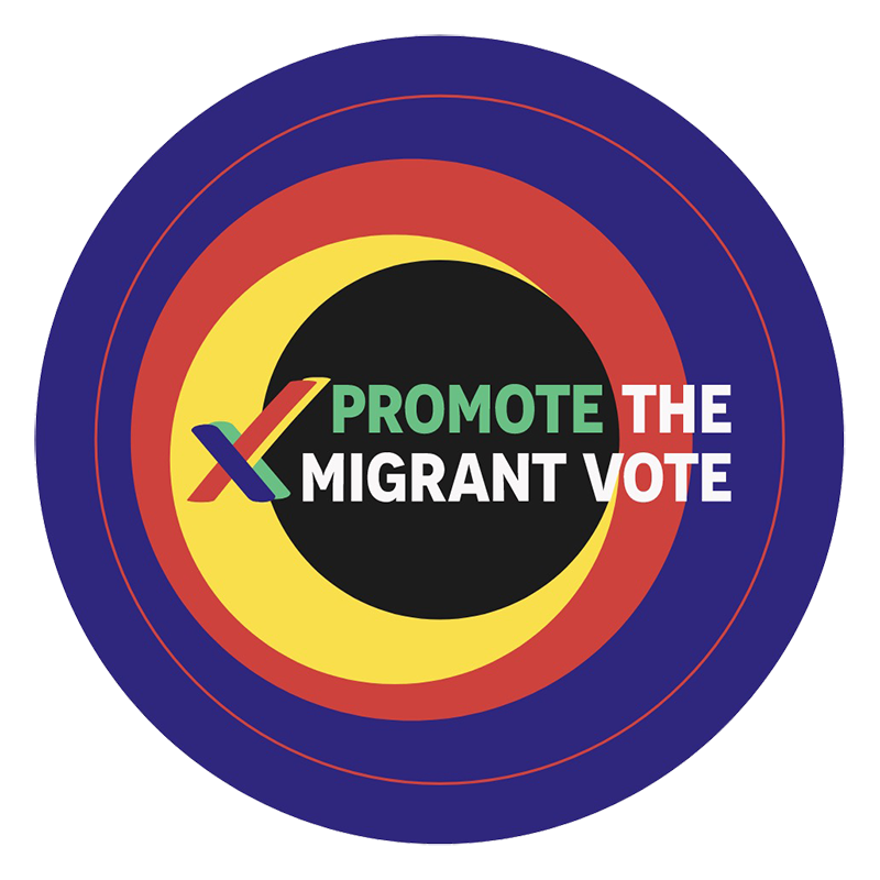 Promote the Migrant Vote logo