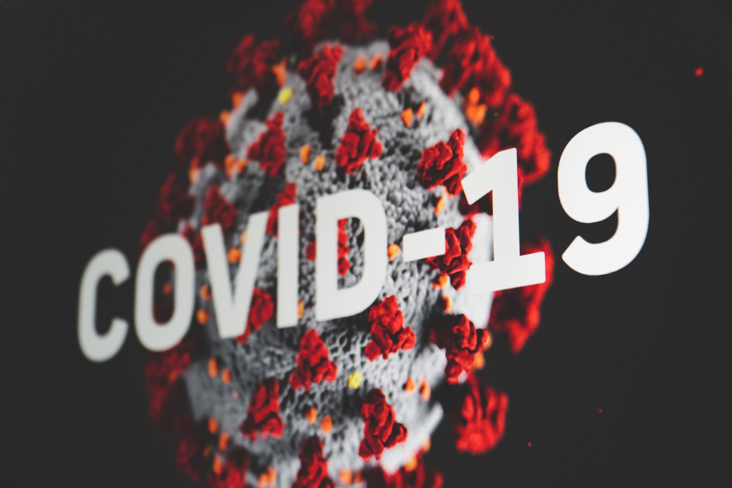 an image representing the Covid-19 virus