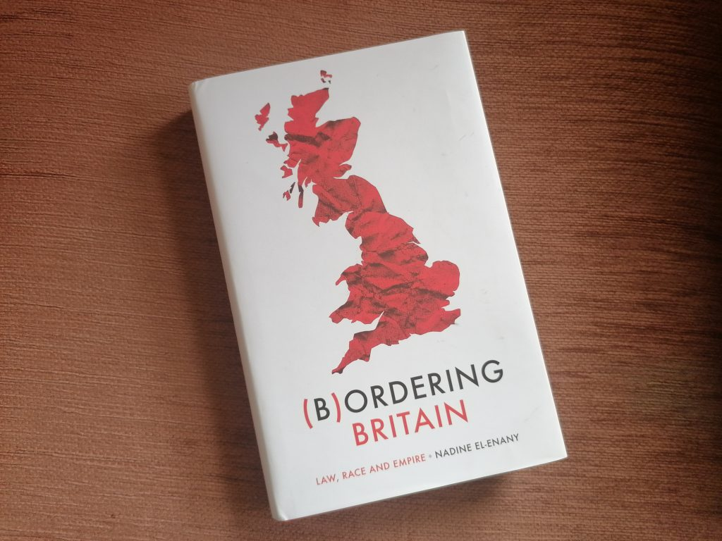 photo of front cover of Bordering Britain book